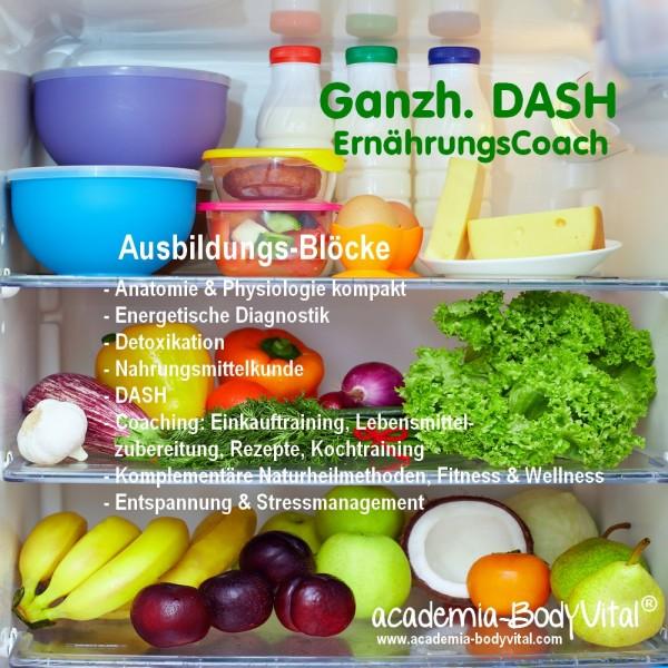 Ganzh. DASH ErnährungsCoach Ausbildung