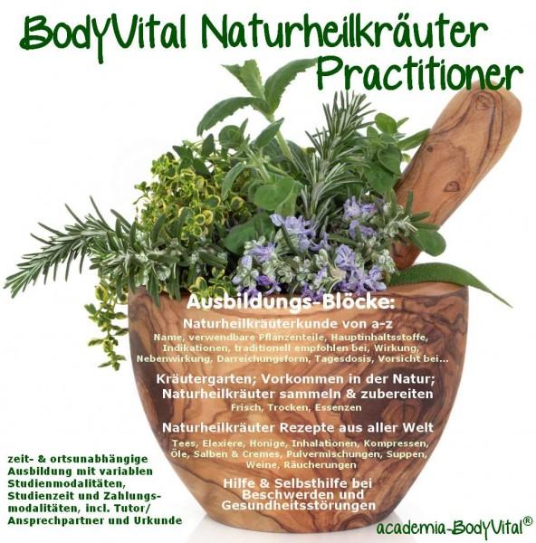 BodyVital® Naturheilkräuter Practitioner Ausbildung