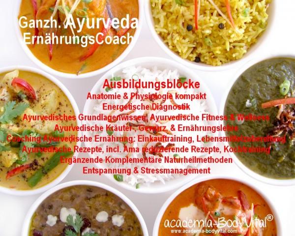 Ganzh. Ayurveda ErnährungsCoach Ausbildung