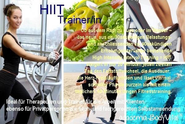 HIIT Trainer/in Ausbildung
